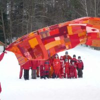 Walter Bruno Brix: Big Red Curtain, seit 2007